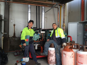 Commercial Refrigeration Service Project